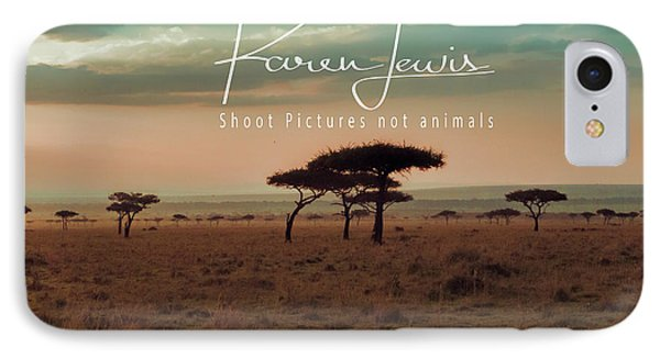 IPhone Case featuring the photograph Pastel Dawn On The Mara by Karen Lewis