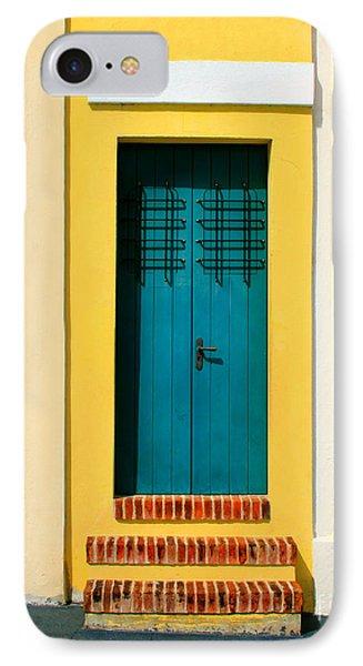 Pastel Doorway Phone Case by Perry Webster