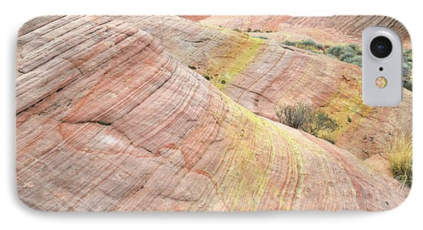 IPhone Case featuring the photograph Pastel Dunes In Valley Of Fire by Ray Mathis