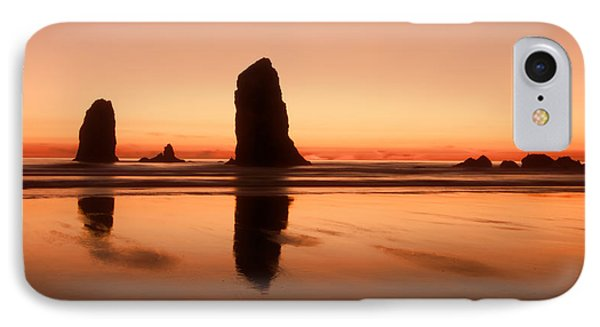 Pastel Evening On The Oregon Coast IPhone Case by Don Schwartz