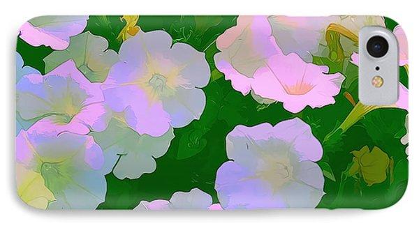 Pastel Flowers Phone Case by Tom Prendergast