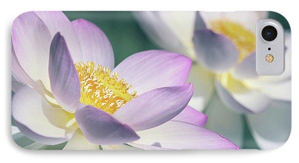Pastel Lotus IPhone Case