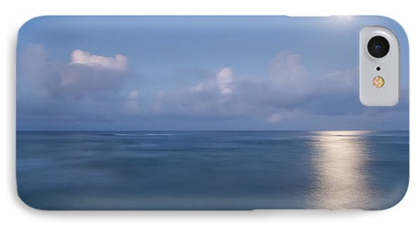 Pastel Moonset IPhone Case by Roger Mullenhour
