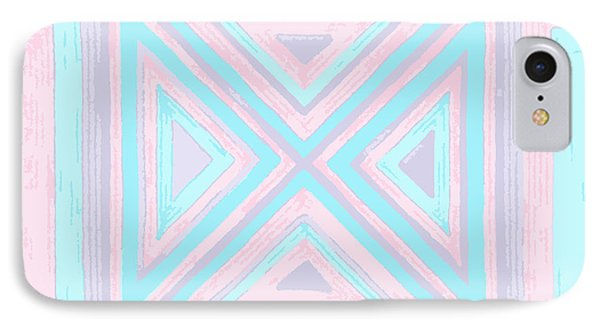 Pastel Patchwork IPhone Case by Jill Lenzmeier