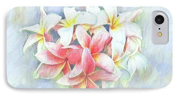 Pastel Petals IPhone Case by Autumn Moon