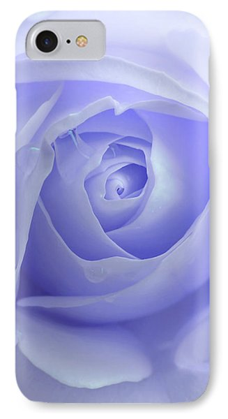 Pastel Purple Rose Flower Phone Case by Jennie Marie Schell