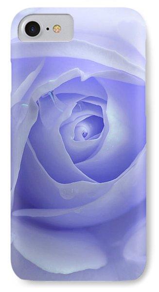 Pastel Purple Rose Flower IPhone Case