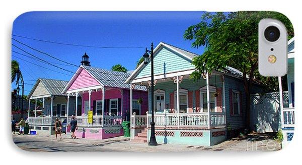 Pastels Of Key West IPhone Case by Susanne Van Hulst