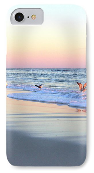 Pastels On Water IPhone Case by Faith Williams