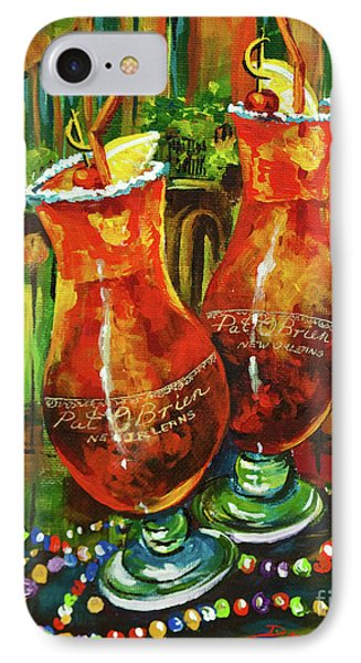Pat O' Brien's Hurricanes IPhone Case by Dianne Parks