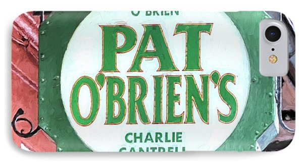 IPhone 7 Case featuring the photograph Pat Obriens by JC Findley