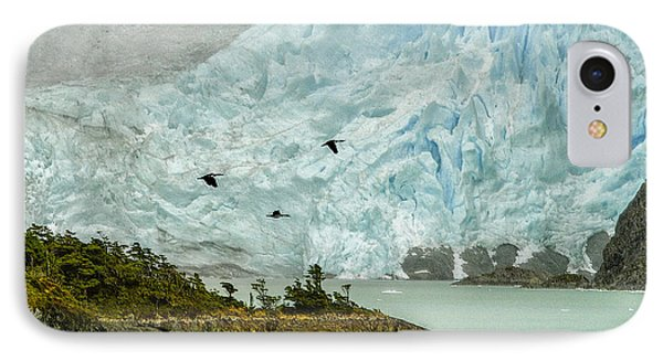 Patagonia Glacier IPhone Case by Alan Toepfer