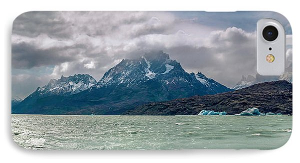 IPhone Case featuring the photograph Patagonia Lake by Andrew Matwijec
