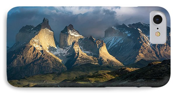 IPhone Case featuring the photograph Patagonian Sunrise by Andrew Matwijec