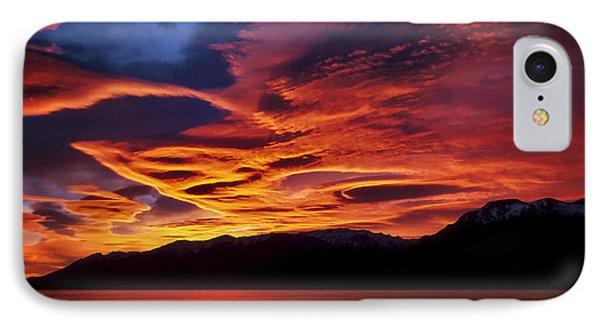 Patagonian Sunrise IPhone Case by Joe Bonita