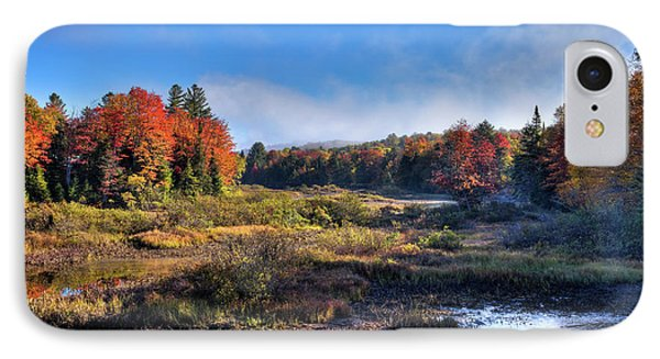 IPhone Case featuring the photograph Patches Of Fog At The Green Bridge by David Patterson