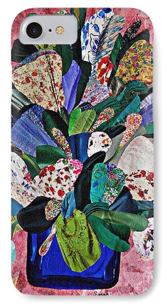Patchwork Bouquet Phone Case by Sarah Loft