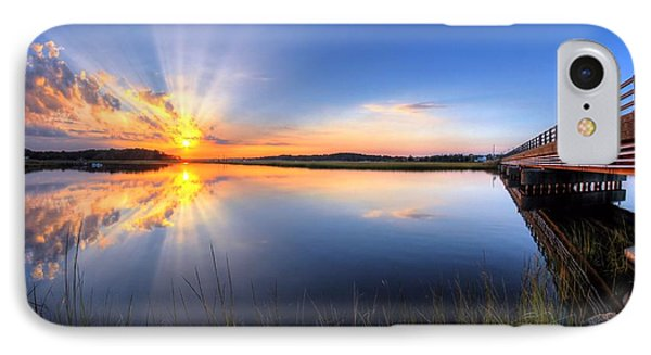 Patcong Rays IPhone Case by John Loreaux