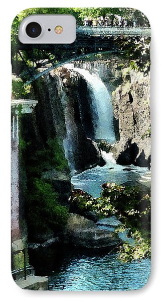 Paterson Falls Phone Case by Susan Savad