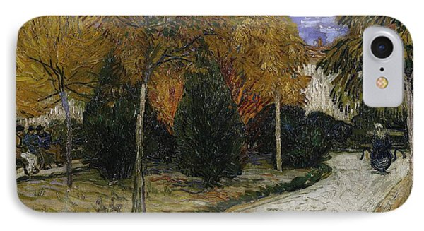 Path In The Park At Arles IPhone Case