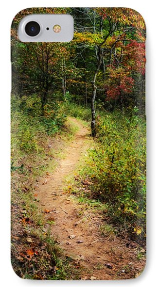 Path In The Prairie IPhone Case by Diana Boyd