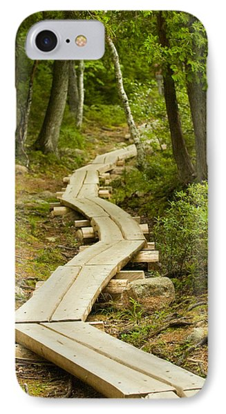 Path Into Unknown IPhone 7 Case by Sebastian Musial