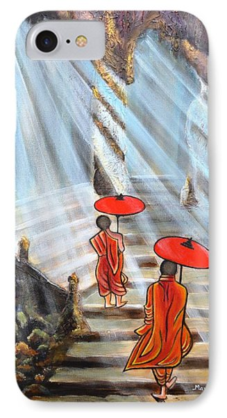 Path To Enlightenment IPhone Case