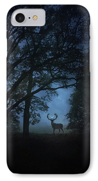Magician iPhone 7 Case - Path Of Shadows by Cambion Art