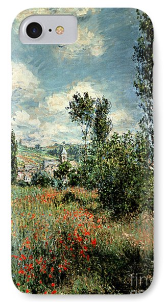 Path Through The Poppies IPhone Case