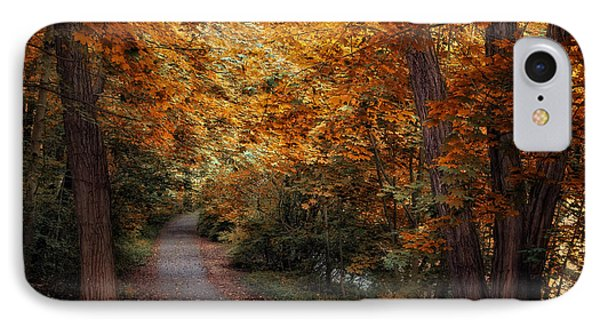 Path To Autumn  Phone Case by Jessica Jenney