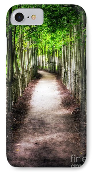 Path To My Destination IPhone Case by George Oze