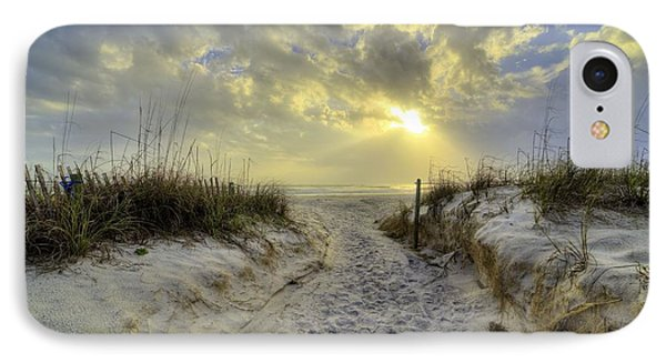 Path To Panama City Beach IPhone Case by JC Findley