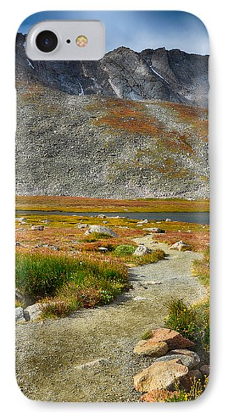 Path To Summit Lake IPhone Case by Angelina Vick
