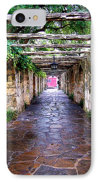 Path To The Alamo IPhone Case by Anthony Jones