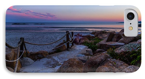 Path To The Beach IPhone Case by Tim Kirchoff