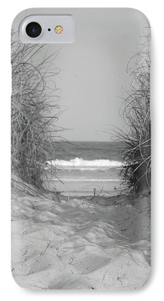 Path To The Beach IPhone Case by WaLdEmAr BoRrErO