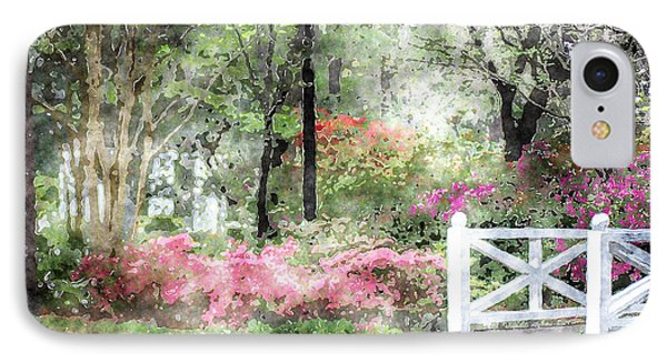 Path To The Bridge IPhone Case by Donna Bentley