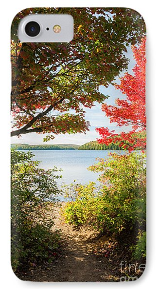 IPhone Case featuring the photograph Path To The Lake by Elena Elisseeva