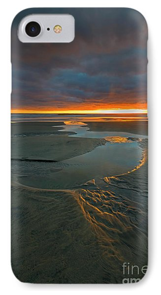 Path To The Sea IPhone Case by Mike Dawson