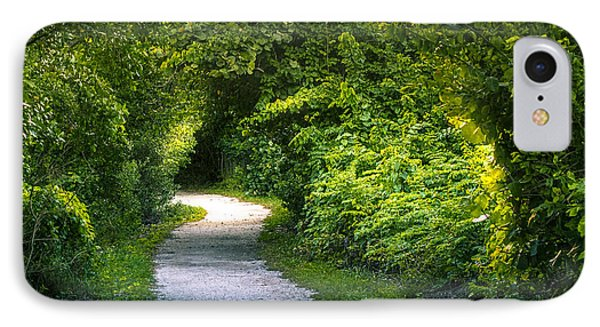 Path To The Secret Garden IPhone Case by Marvin Spates