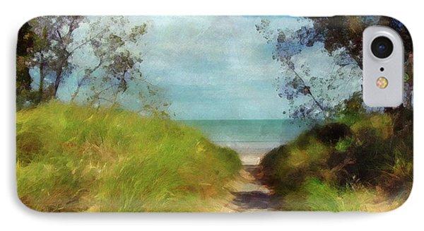 Path To Whihala Beach 2 IPhone Case