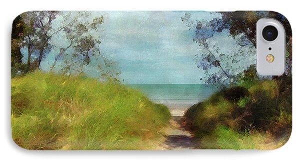 Path To Whihala Beach 2 IPhone Case by Cedric Hampton