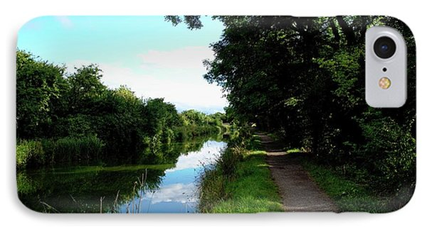 Pathway And Waterway IPhone Case by Miles Byworth