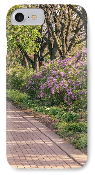 Pathway To Beauty In Lombard IPhone Case by Joni Eskridge