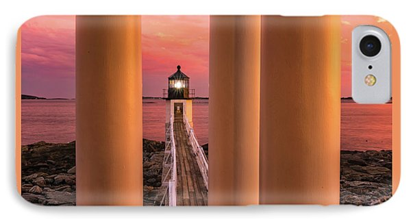 Marshall Point - Beacon Of Light IPhone Case by Thomas Schoeller