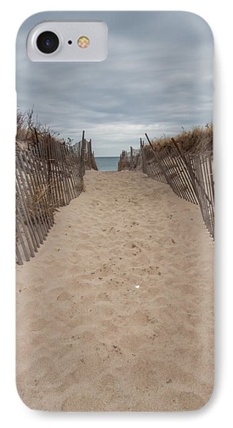 Pathway To The Beach IPhone Case by Brian MacLean