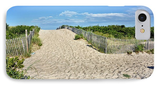 Pathway To The Beach - Delaware IPhone Case by Brendan Reals