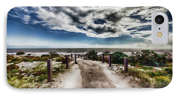 IPhone Case featuring the photograph Pathway To The Beach by Douglas Barnard
