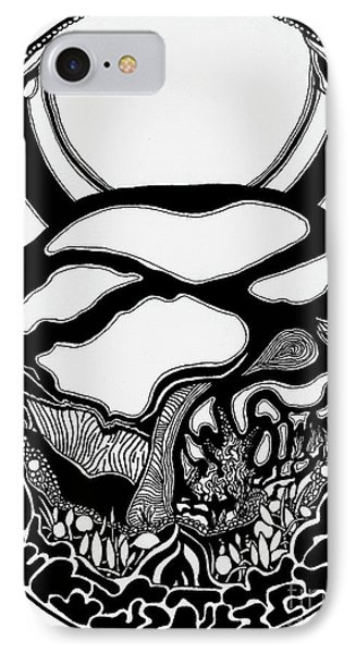 Pathway Two Phone Case by Charles Pulley