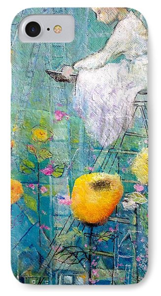 IPhone Case featuring the painting Patience by Eleatta Diver